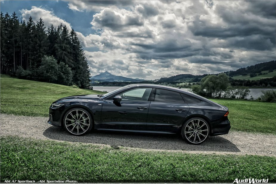 ABT AUDI A7 3.0 TFSI WITH 425 HP AND 22 INCH WHEELS ...