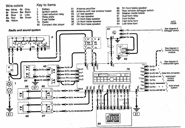 2001 dodge dakota infinity sound system wiring diagram 2006 toyota avalon ignition coil worksheet and b5 audi radio audizine photo gallery rh com