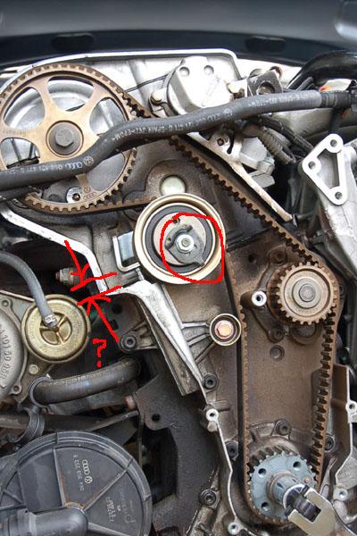 2002 Audi A4 Timing Belt Idler Pulley Manual