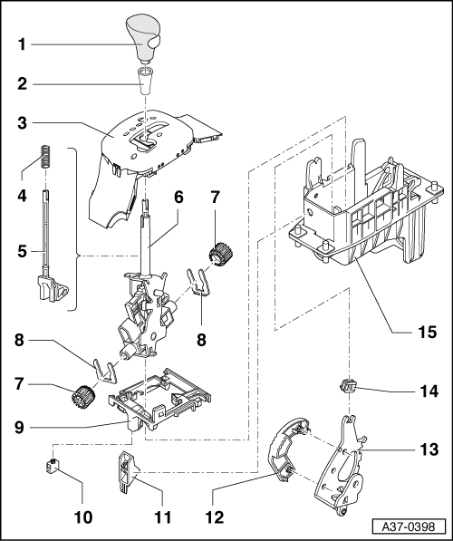Service manual [How To Install Shifter Mechanism 2002