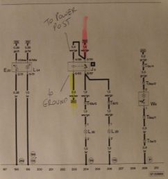 c5 headlight wiring diagram [ 1553 x 1279 Pixel ]