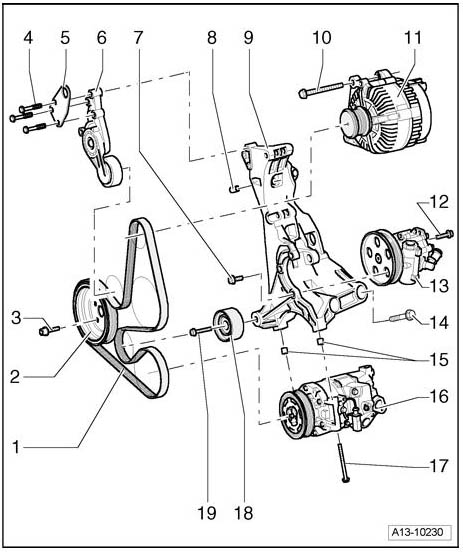 2006 Civic Tensioner Arm Diagram, 2006, Free Engine Image