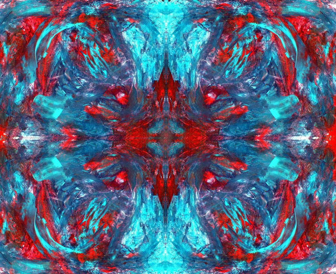 Cavern, abstract art by Audra Arr