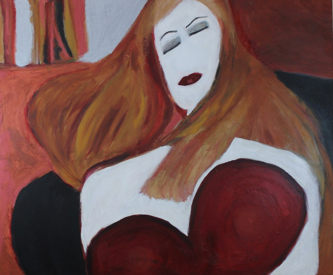 Waiting, oil paintings by Audra Arr