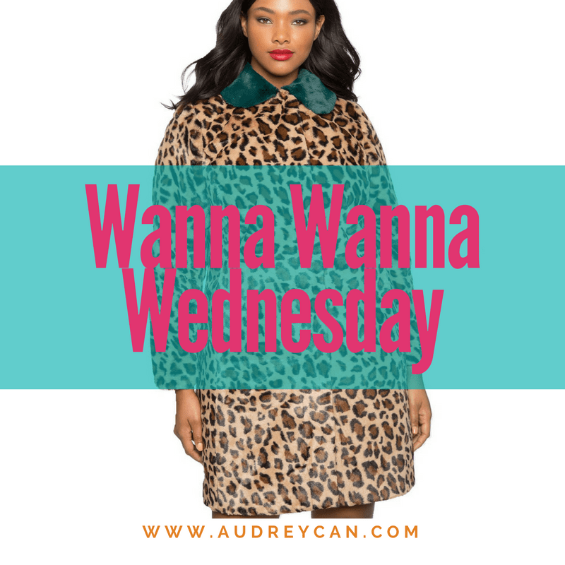 Wanna Wanna Wednesday: Leopard Coat with Fur Collar from ELOQUII