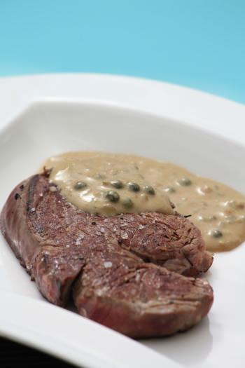 Tournedos de boeuf sauce au poivre vert ma p 39 tite cuisine - Cuisiner tournedos de boeuf ...