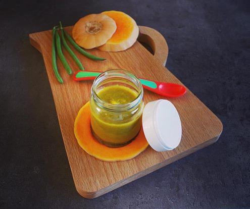 Pur e de butternut et haricot vert audrey f e la cuisine - La petite cuisine d audrey ...