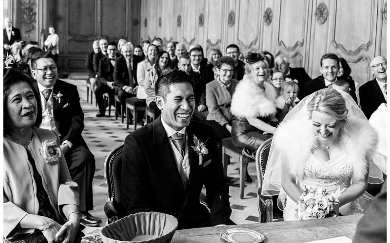 Mariage Franco-Anglais au Moulin de Bully, Calvados