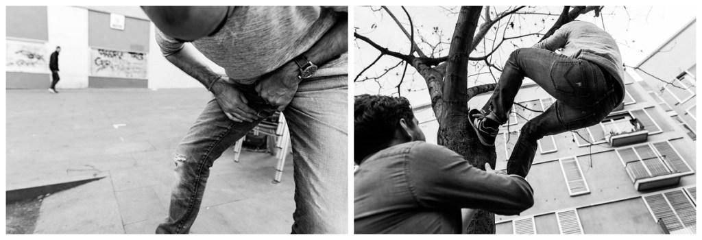 grimper dans les arbres barcelone