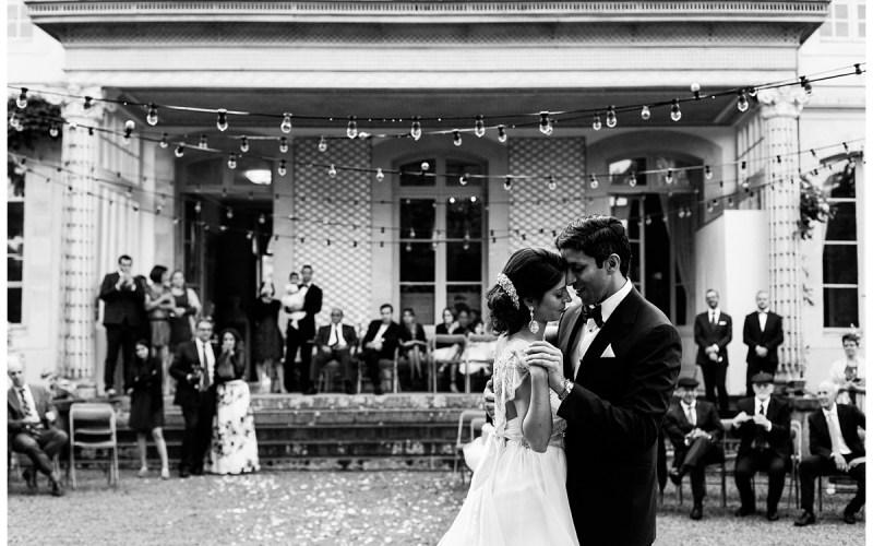 Un mariage américain dans un château privé en Normandie