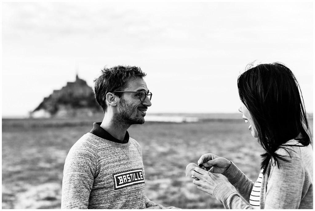 demande en mariage surprise