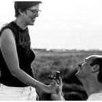 Une demande en mariage surprise – Photographe mariage en Normandie