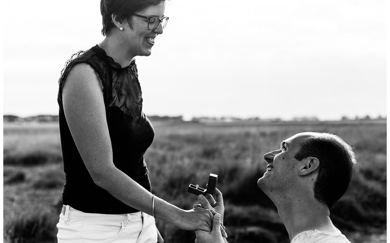 Une demande en mariage surprise