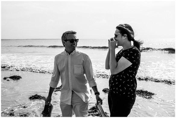 audrey guyon, photographe mariage normandie, présente une séance couple dans la baie du mont saint michel