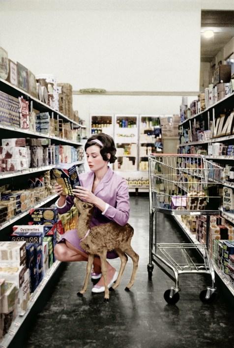 Audrey Hepburn Deer Supermarker