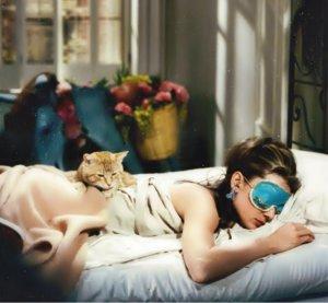 Holly Golightly sleep mask Breakfast At Tiffany's