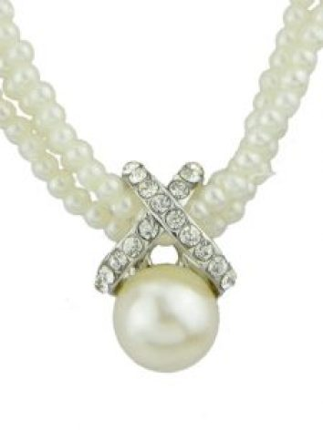Breakfast at Tiffany's pearl necklace