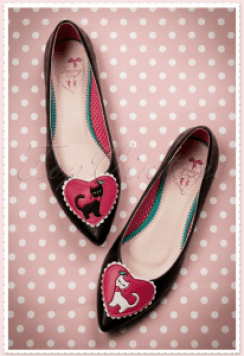 Cat ballerina shoes Audrey Hepburn