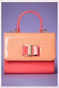 Coral bag Audrey Hepburn
