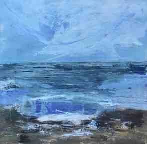 Cool and Blue by Audrey Imber