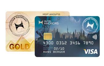 Mit der Hilton Honors Visa Card kostenlose Bargeld abheben