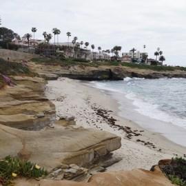 Marine Layer bei La Jolla, San Diego
