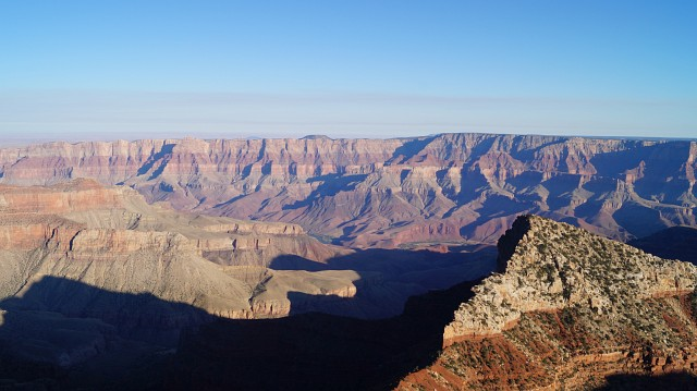 Grand Canyon - Route nach New Mexico