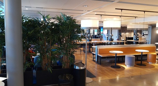 SAS Business Lounge Oslo