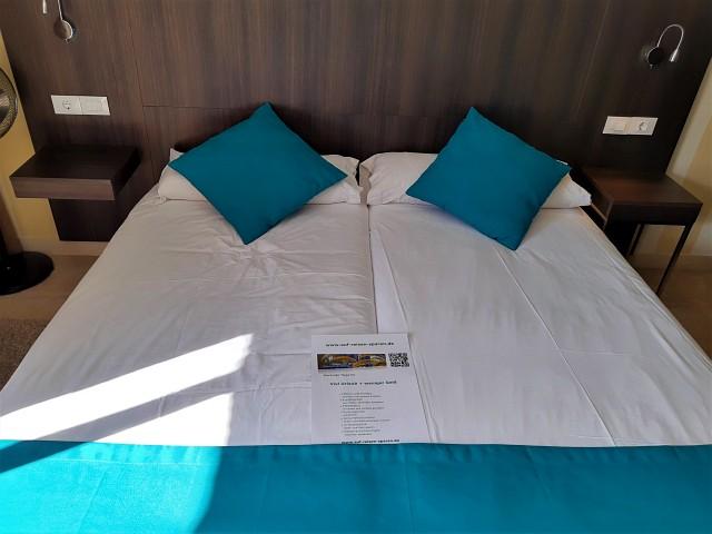 die bequemen Betten im La Aldea Suites