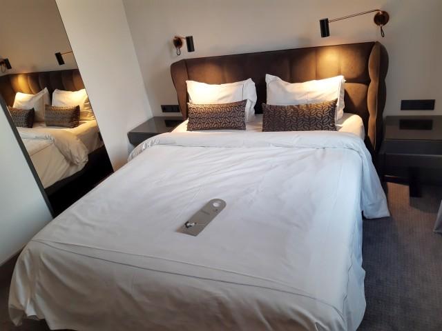Bett im Superior Room