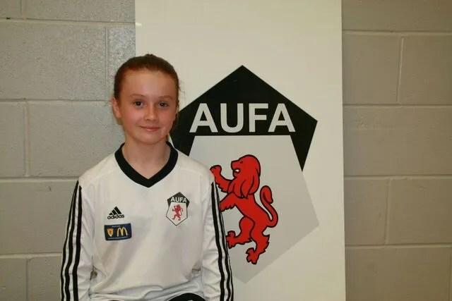 11 S Players Girls Ayr United Football Academy