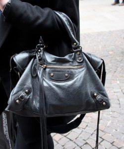 nuevo producto otra oportunidad gran descuento The Balenciaga City Leather Comparison & Metallic Edge ...