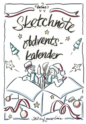 Sketchnote Adventskalender 2021