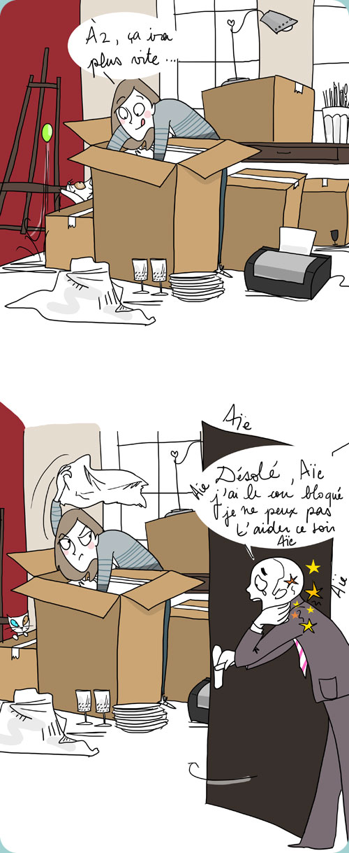 Au Fil Delene Le Dessin Du Jour