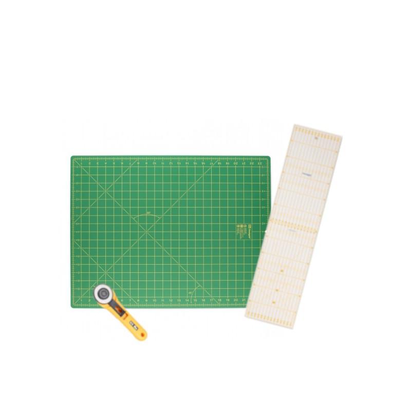 pack pour la coupe de tissus au cutter
