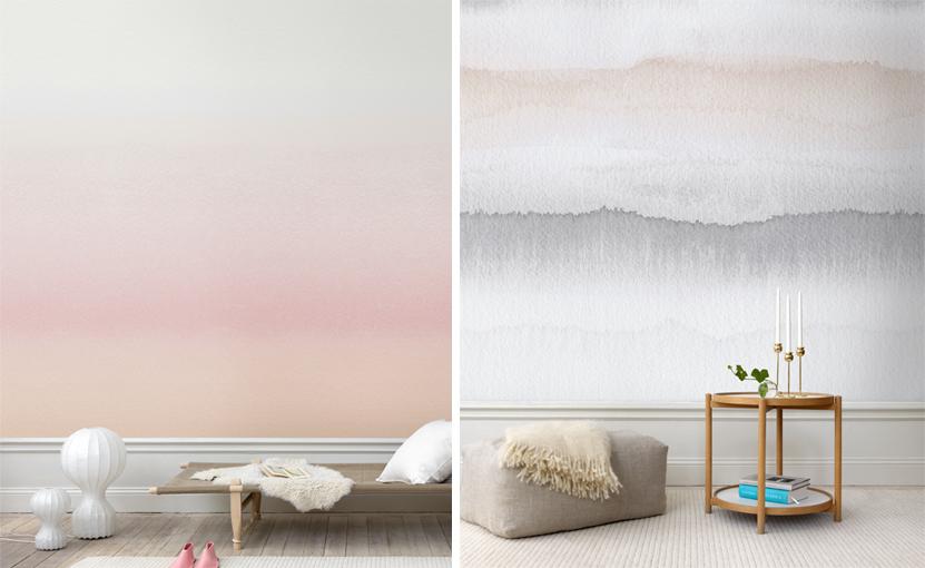 Papiers peints pour une chambre scandinave  Blog Au fil des Couleurs  Papiers peints et dcors