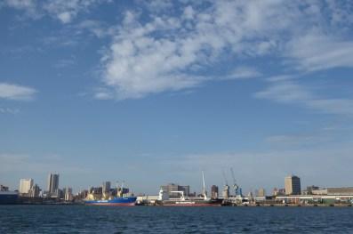 Suedafrika-Durban-Hafen