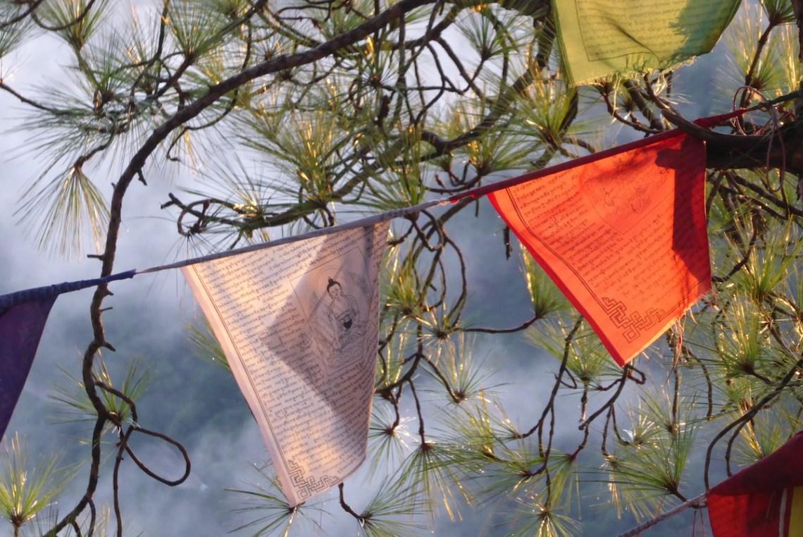 Dharamsala Fahnen | aufmerksam reisen