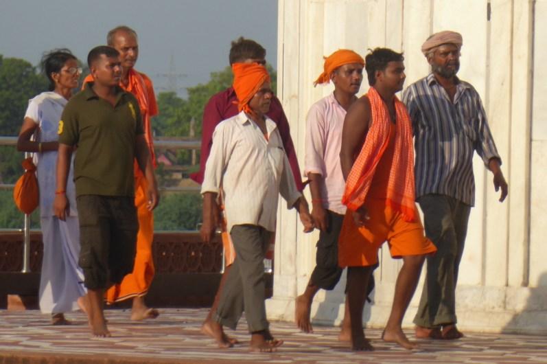 Indien_Agra_Maenner