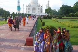Indien_Agra_Taj_Mahal_Frauen