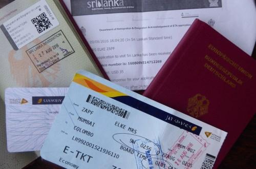 SriLanka Einreise   aufmerksam reisen