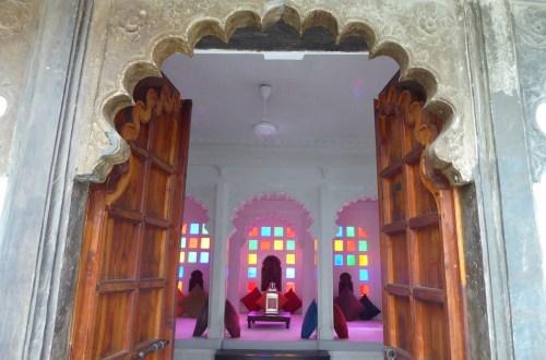 Udaipur Haveli Tuer | aufmerksam reisen