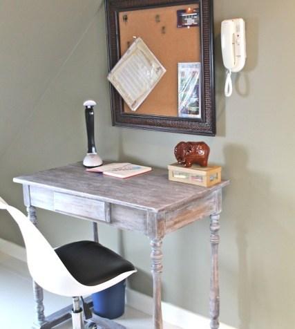 airbnb in Makati auf den Philippinen, Schreibtisch