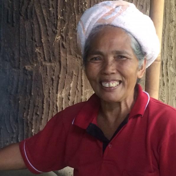 Bali-Kaffeeplantage-Frau