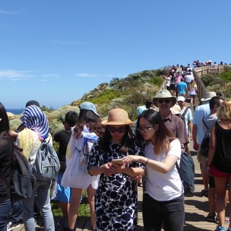 Australien-GreatOceanRoad-Chinesen
