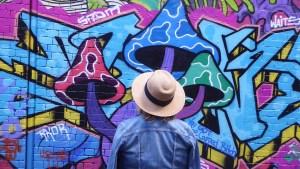 Australien Wunschaktion Melbourne kostenlos Streetart Elke Slider | aufmerksam reisen