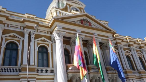 Bolivien-LaPaz-Parlament