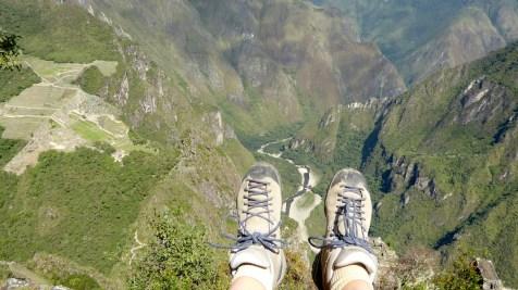 Peru-MachuPicchu-WaynaPicchu-Schuhe