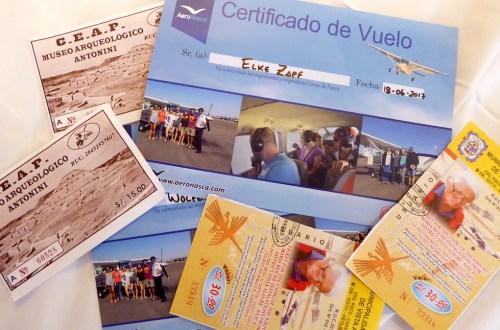 Peru NascaLinien Certificado 1 | aufmerksam reisen