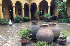 Mexiko-NaBolom-Innenhof
